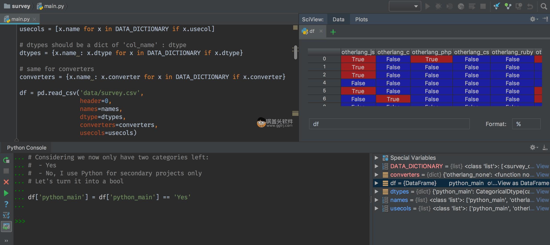 PyCharm 2020.3.2 汉化便携增强版 编辑器 第2张