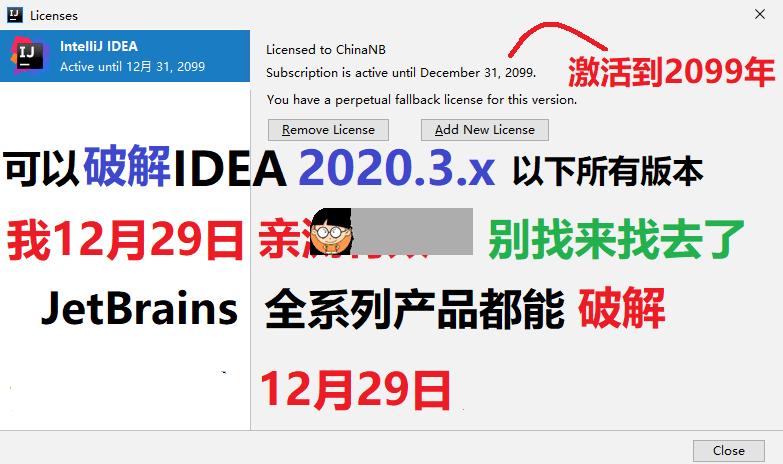 JetBrains 2020.3 通杀补丁JetBrains通用注册机 注册机 第2张